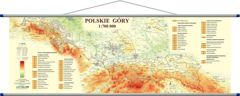 Gory Sowie Mapa Polski Serial Gorale Gory Mapa